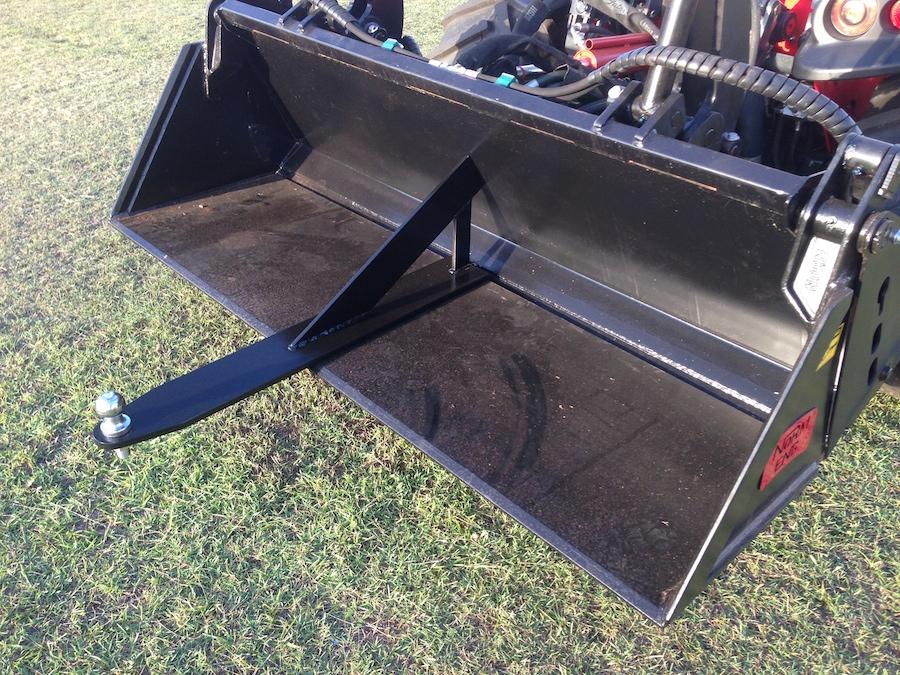 Tow Hitch Accessories >> AGILATOR Grab Attachments - Hillside Tractors Australia