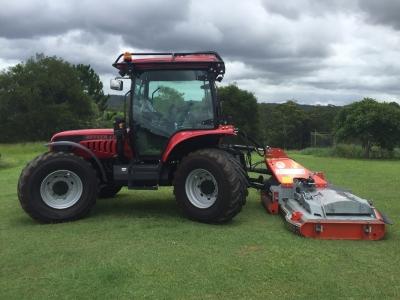 BM Better 130 Tractor with Condor Mower. Great for Contractors.