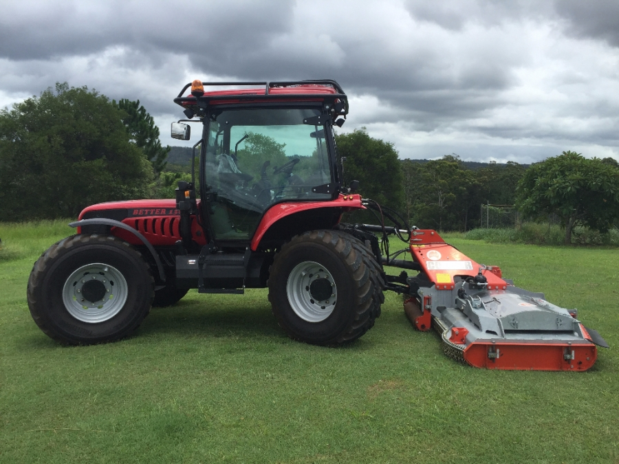 BM Better 130 Tractor with Condor Mower. Great for Contractors.