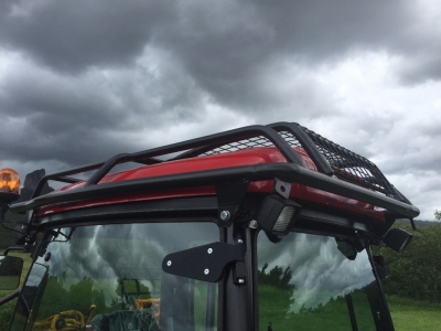BM Better 130 Tractor with optional forestry roof protection