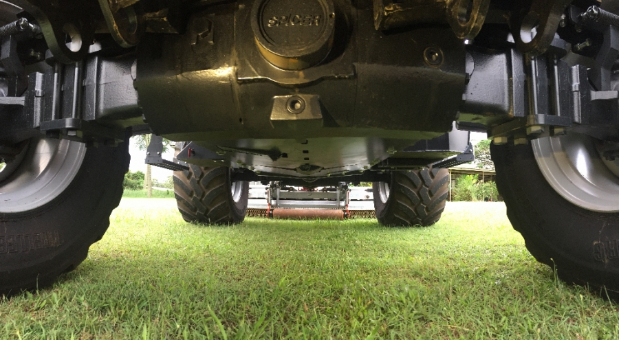 BM Better 130 - Underneath the Chassis - Belly Plate
