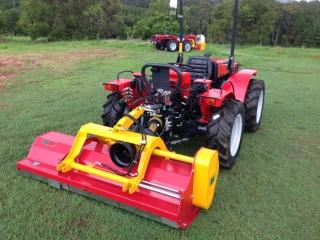 INO Mulchers - Hillside Tractors Australia