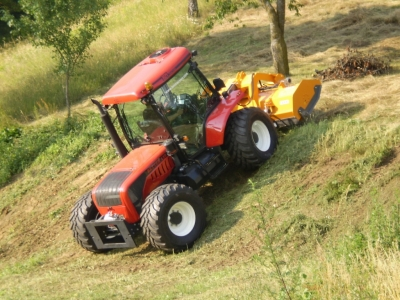 BM Tractor - 130HP Hillside Tractor. Made in Italy