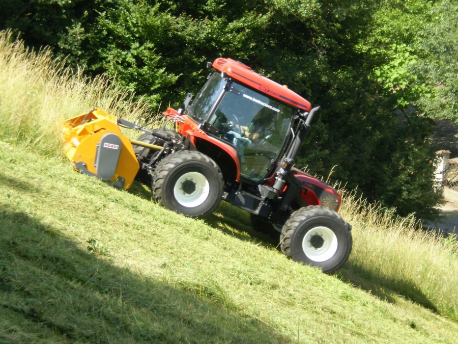 BM 130 Tractor. Available from Hillside Tractors Australia. Suitable for Council contractors and Municipal work