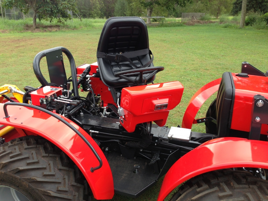 AGT 850 Reversible console 4WD Tractor. Available at Hillside Tractors Australia