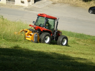 BM 130 Tractor. Available from Hillside Tractors Australia. Suitable for Council contractors