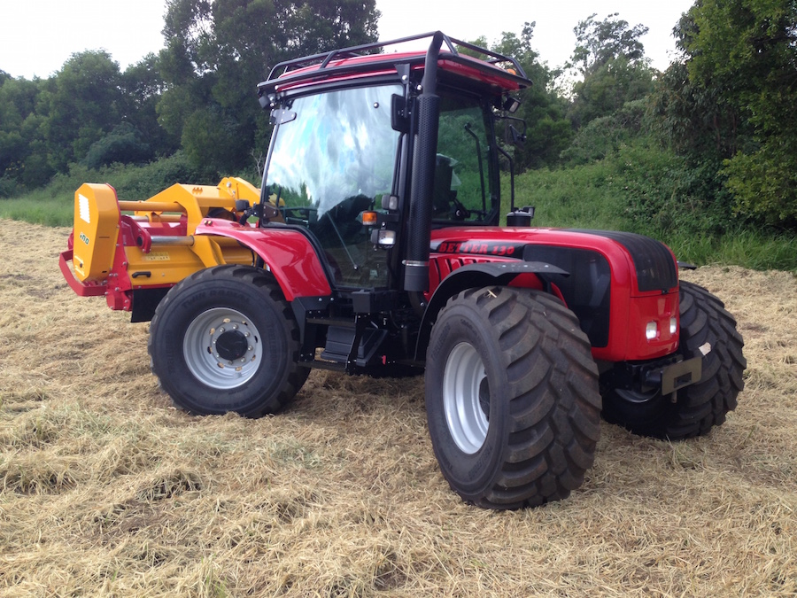 BM Tractor with INO Mulcher