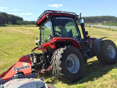 BM Better 130 Tractor for steep slopes and hillside
