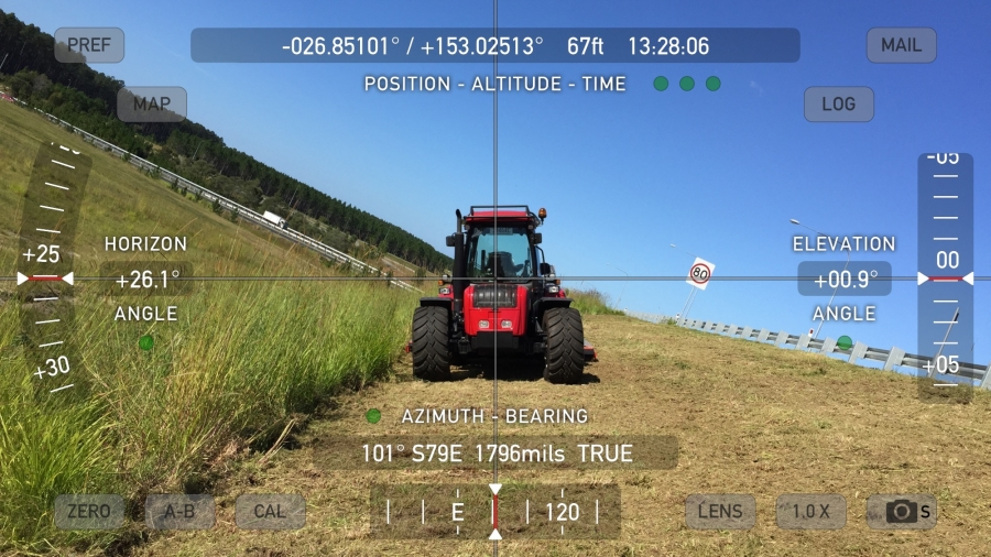 BM Tractor for highway and contract mowing