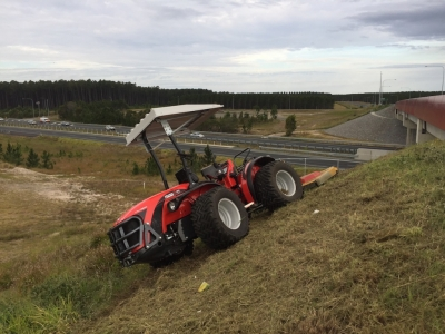Antonio Carraro TRH with Ilmer Mower