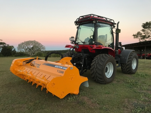 Serrat Kastor 550 T-2300 Forestry Mulcher with BM 130 Tractor